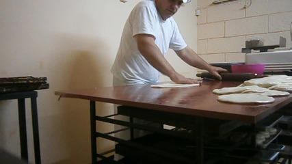 Това е баща ми как прави баници
