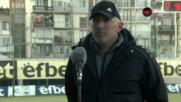 Антон Бачев: Изключително съм доволен от точката