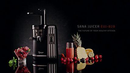 Sana by Omega 828 Slow Juicer - Šnekový odšťavňovač 3. generace