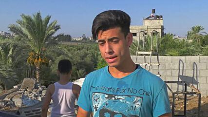 State of Palestine: Israeli airstrikes on Gaza injure 2 children, damage houses