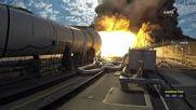 USA: NASA tests massive rocket booster in Utah desert