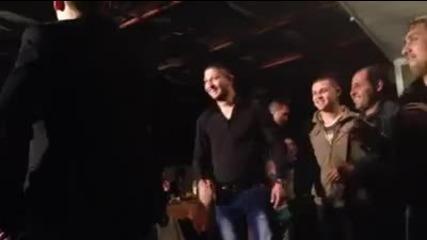 Bamze pee na venci_svodnika
