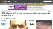 Slain New York Prison Escapee Pulled Shotgun On Officers