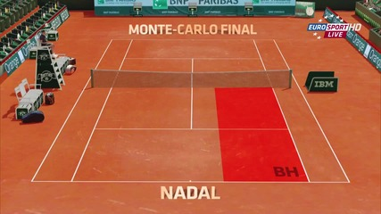 nadal-djokovic 2013 - roland garros clay - Howk eye analysis - epic dobro