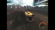 Flatout Ultimate Carnage - Crash Alley - Schoolbus