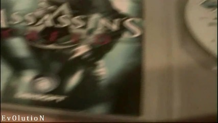 Unboxing Assassins Creed Xbox 360 + footage of The game Hd
