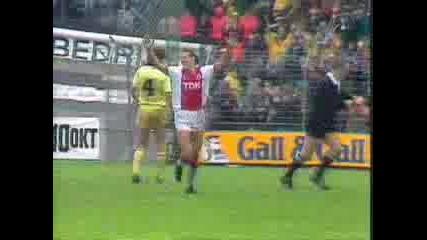 Ajax - Feyenord 8 - 2 Van Basten