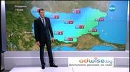 Прогноза за времето (25.01.2015 - сутрешна)