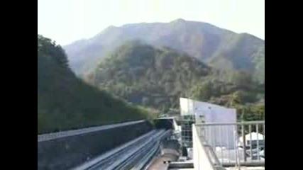 Влак Движещ Се С 500 Км/ч