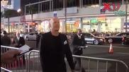 Звездите и режисьорите пристигат на премиерата на филма си Град на Греха 2 (2014)