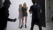Behind the scenes of Taylor Momsens Sugar cover shoot!