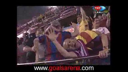 Athletic Bilbao Vs. Barcelona 1 - 3 Bojan Goal 13.05.2009