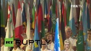 Switzerland: Blatter addresses the FIFA Congress amid calls for him to resign