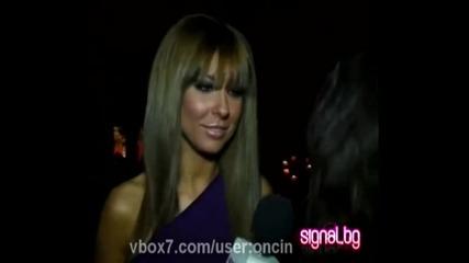 Андреа се смее супер яко пред репортерка на signal.bg : D