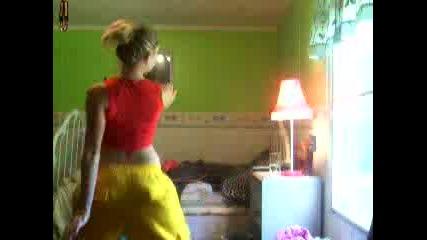Секси Момиче Танцува