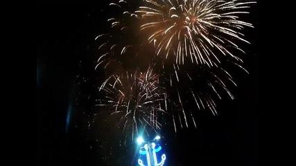 Заря на празника на Варна 15.08.2015