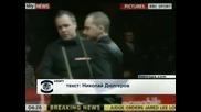 Дин Дзюнхуей срещу Греъм Дот на четвъртфиналите в Лондон