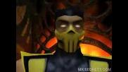 Суб Зеро Vs. Скорпион И Намесванката Куан Чи - Mortal Kombat