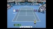 Нова загуба на Вознячки през 2011 – 0:2 сета от Цибулкова в Сидни
