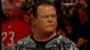 Paul Heyman faking heart attack mocking Jerry Lawler Raw 11 13 2012