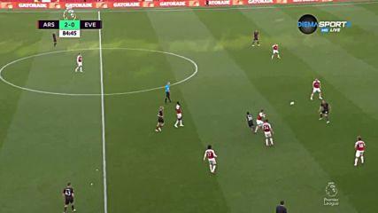Арсенал - Евертън 2:0 /репортаж/