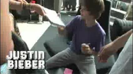 Justin Bieber visit Uk