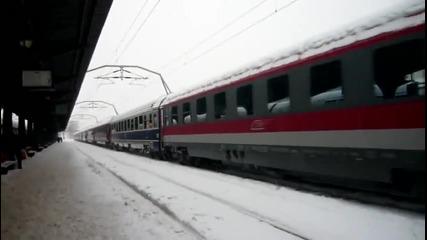 R652 Suceava - Bucuresti Nord pleaca spre Depoul Bucuresti Calatori 18 Decembrie 2009