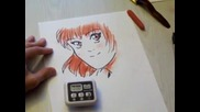 Crilley Draws _miki_ in One Minute