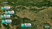 Прогноза за времето на NOVA NEWS (23.06.2021 - 20:00)