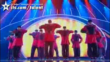 Великобритания търси талант 2010 полуфинал 1