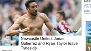Newcastle Player Scores Goal After Fighting Cancer