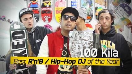 100 кила Best R'n'b/hip-hop Dj of the Year