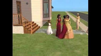 Sims Wedding Day