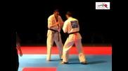 European Kyokushin Championship 2011-sergiu Druhora-andrius Miseckas