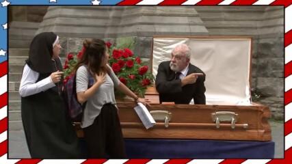 Мъртвец се връща към живота, за да упъти случаен минувач - Смях