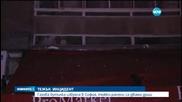 Взрив на газова бутилка събори тераса