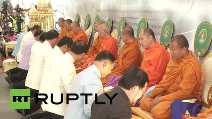 Тайланд: Мулти-религиозна церемония почете жертвите на взрива