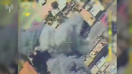 State of Palestine: IDF shares video of airstrike allegedly targeting Hamas weapons depot in Gaza