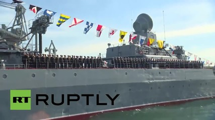 Russia: Black Sea Fleet gear up for V-Day parade in Sevastapol