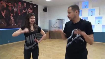 Dancing Stars - Вензи и Ралица по време на репетиция (15.04.2014г.)