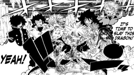 { Bg Sub } Fairy Tail Manga 540 - Harmony