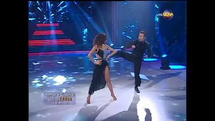 Dancing Stars - Антон Касабов и Дорина cha- cha (11.03.2014г.)