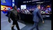Скалата се завърна ! - Wwe Raw 14.11.2011