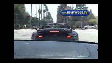 Дейвид Бекам засечен по улиците на Лос Анджелис