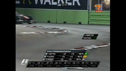 Формула1 Гран При На Сингапур 2011(7/11)