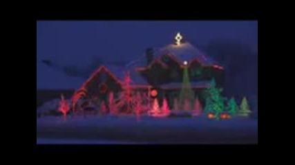 Много красива Коледна къща