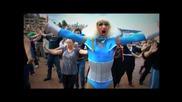 Лейди Гага флаш моб в Сидни