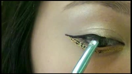 ( Sexy Leopard Print Eyes ) Мишел Фан