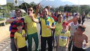 Brazil: Fans celebrate as Neymar et al. secure Brazil's fourth Olympic final