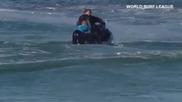 сърфист е нападнат от акула и я прогонва с голи ръце